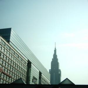 新宿高島屋あたり。