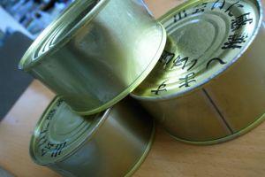 津波を耐えた缶詰